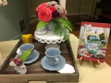 Tearoom for Two by Susan Page Davis, arrangement by Deb Digiovanni.