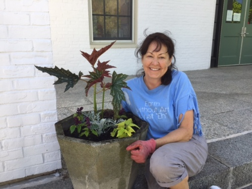 Helen, town hall pots